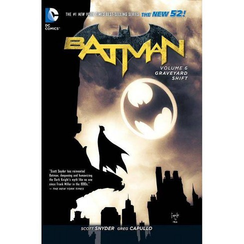 Batman Vol. 6: Graveyard Shift (the New 52) - 52 Edition by  Scott Snyder (Paperback) - image 1 of 1