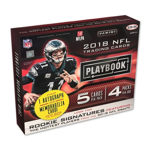 NFL Playbook Football Trading Card Box - image 1 of 3