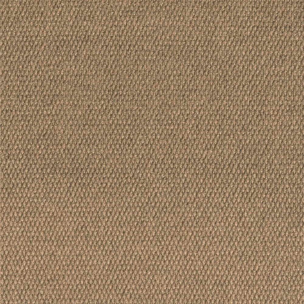 10pk Hobnail Extreme Carpet Tiles Chestnut