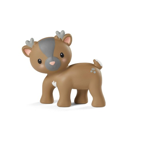 Infantino Go gaga! Holiday Squeeze & Teethe Pal - Reindeer - image 1 of 4