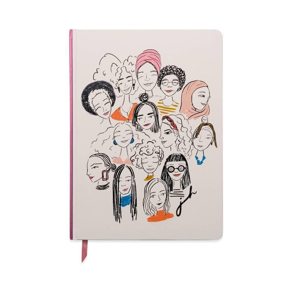 Undated Classic Bookbound Journal 7 5 34 X 10 5 34 Women Designworks Ink