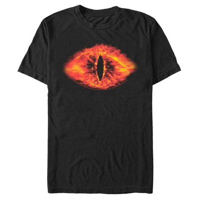 Men's The Lord of the Rings Fellowship of the Ring Eye of Sauron T-Shirt
