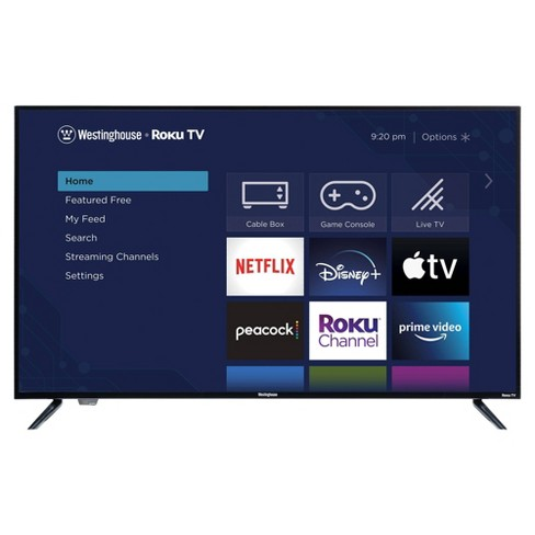 """Westinghouse 55"""" 4K Ultra HD Roku Smart TV with HDR (WR55UX4019 / WR55UT4009) - image 1 of 4"""