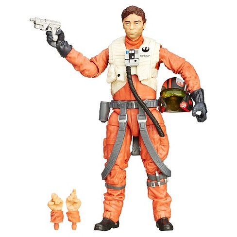 Star Wars: The Force Awakens Black Series 6 Inch Poe Dameron - image 1 of 2