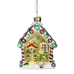 Mr Christmas Ceramic Christmas Ornament Green Target