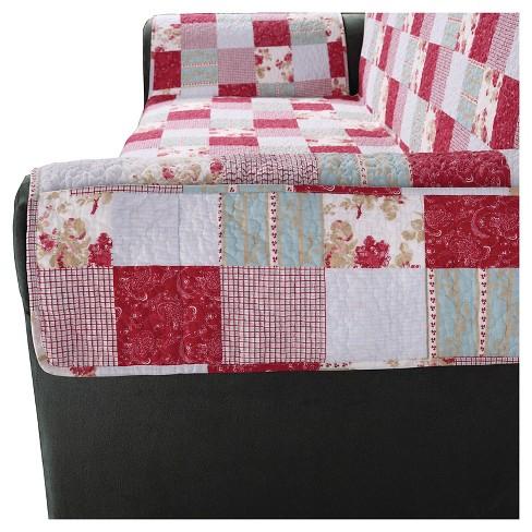 Heirloom Sofa Furniture Protector Cottage Patchwork Sure Fit