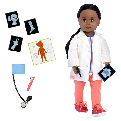 "Our Generation 18"" Doctor Doll with Accessories - Meagann"