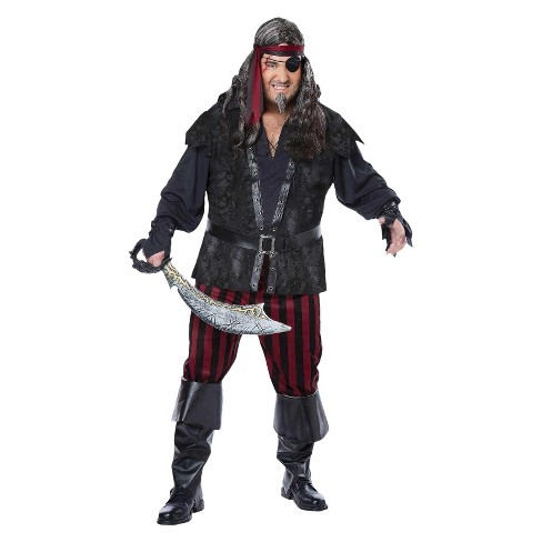 Pirate Rogue Men's Plus Size Costume XX-Large - image 1 of 1