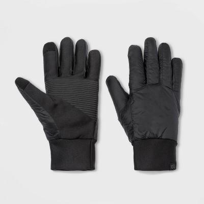 Men's Puffer Gloves - All in Motion™ Black