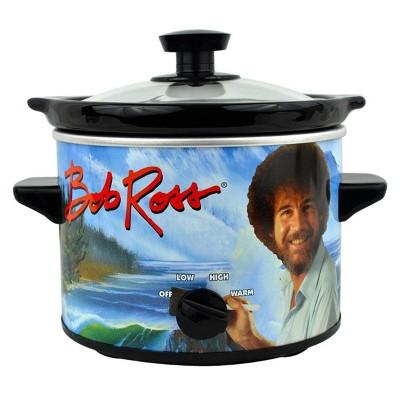 Uncanny Brands - Bob Ross 2qt Slow Cooker