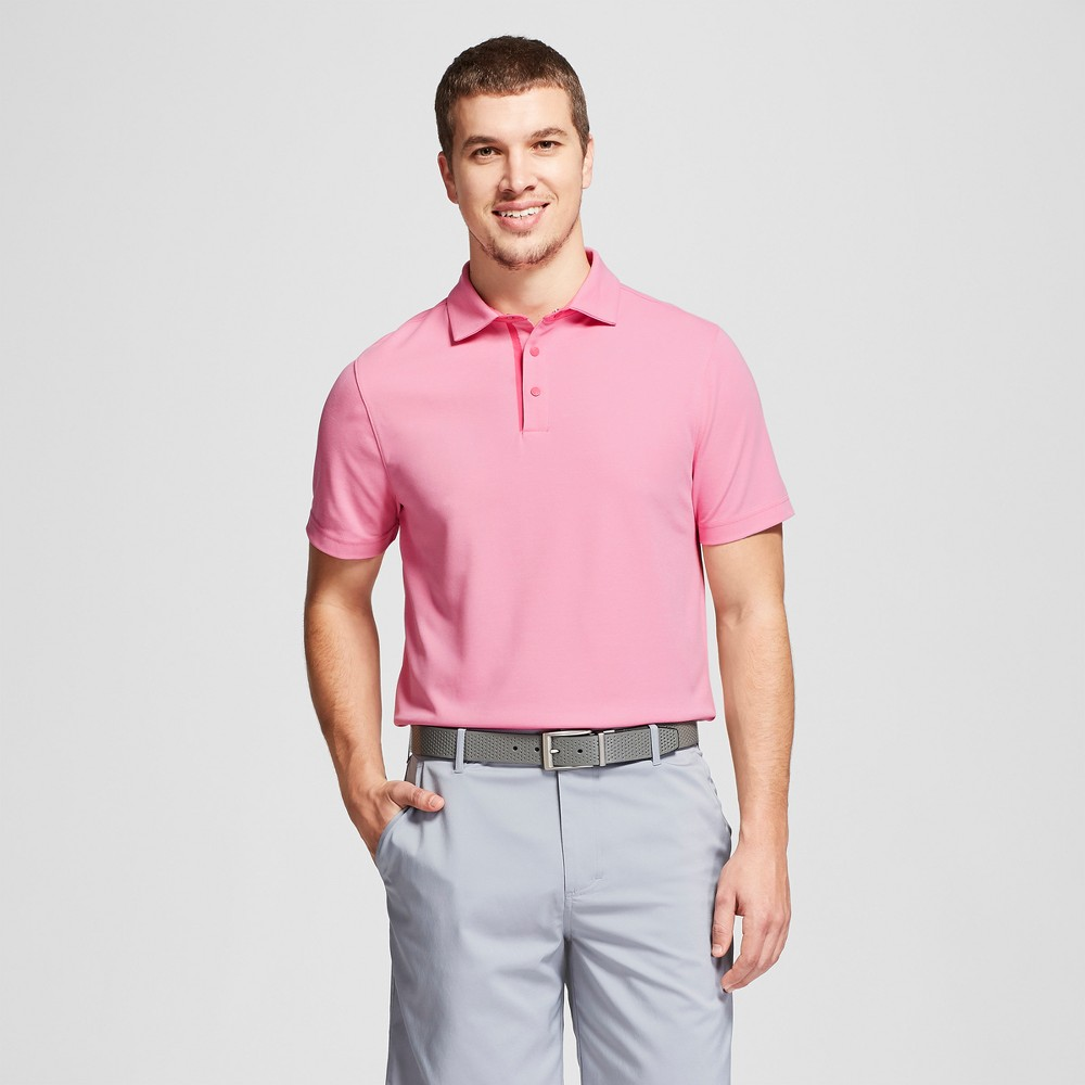 Men's Golf Pique Polo Shirt - C9 Champion Pink Marquee Xxl