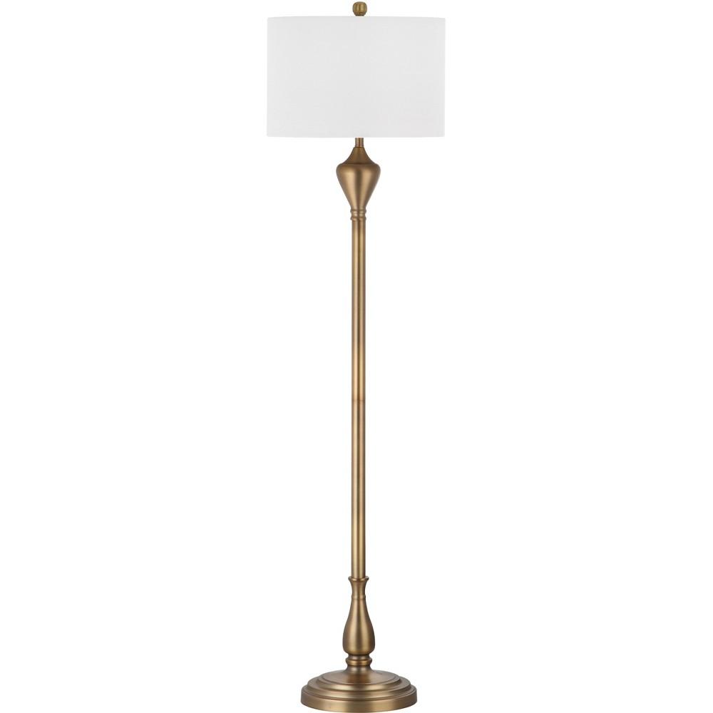 Xenia Floor Lamp - Safavieh, Gold/White