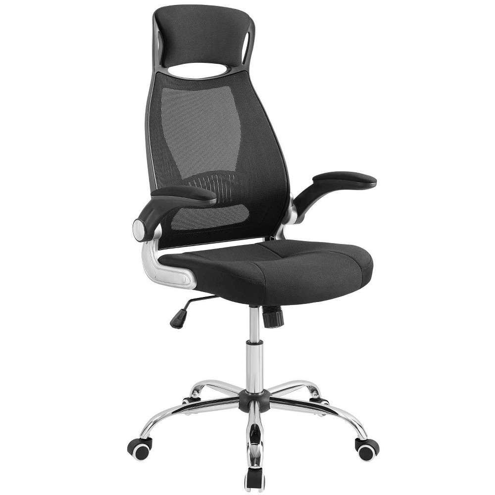 Expedite Highback Office Chair Black - Modway