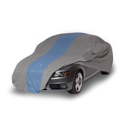 "Duck Covers 22"" Defender Sedan Car Automotive Exterior Cover Light Gray"
