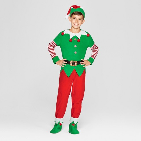 Kids Elf Costume Wonder