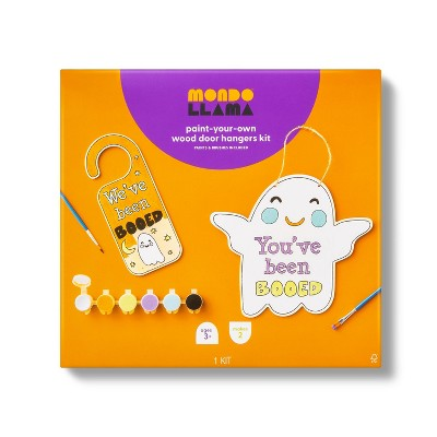 You Got Booed Boo Door Hanger with Paints - Mondo Llama™