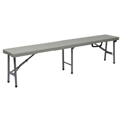 6u0027 Folding Bench   Office Star®