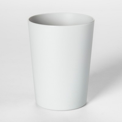 18oz Plastic Short Tumbler Gray - Room Essentials™