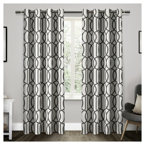 Exclusive Home Trincity Curtain Panels - Set of 2 Panels - image 1 of 4
