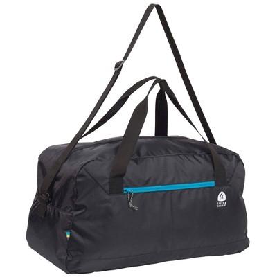 Sierra Designs Crystal Lake Packable Duffel Bag - Black
