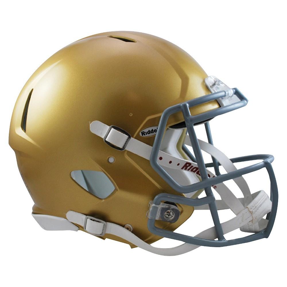 Notre Dame Fighting Irish Riddell Speed Authentic Helmet - Gold