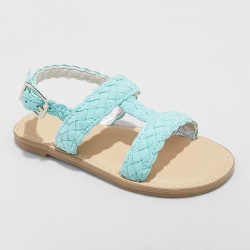 Toddler Girls' Elsie Two Piece Slide Sandals - Cat & Jack™ - image 1 of 3