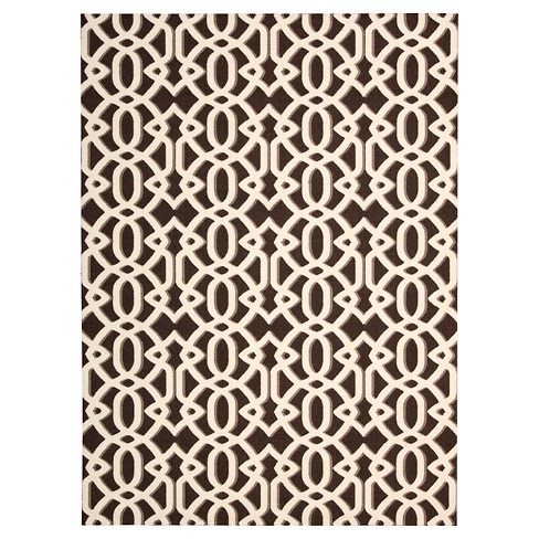 Nourison Lattice Enhance Rug - image 1 of 5