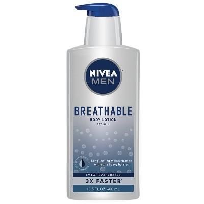 NIVEA Men Breathable Body Lotion - 13.5 fl oz