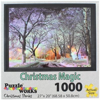 JPW Industries Inc. Christmas Magic 1000 Piece Jigsaw Puzzle