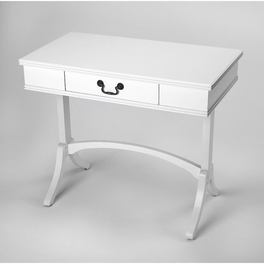 Alta Writing Desk White - Butler Specialty