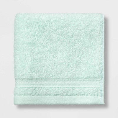 Soft Solid Washcloth Mint Green - Opalhouse™