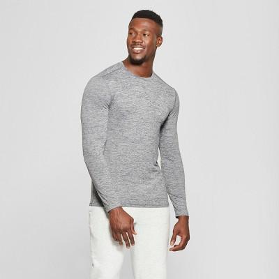 8a45017f Men's Long Sleeve Tech T-Shirt – C9 Champion® Black Heather L ...