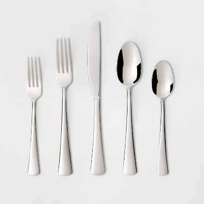 Pike 20pc Silverware Set - Threshold™
