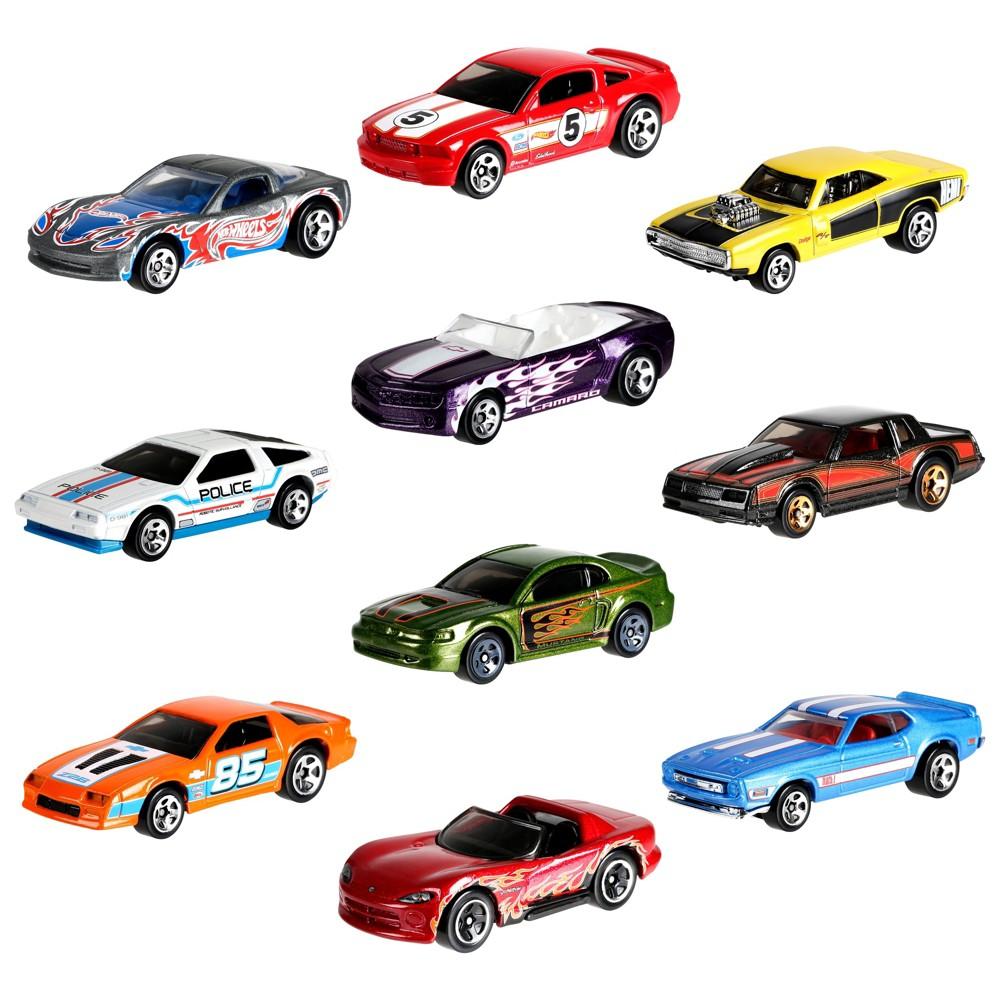Hot Wheels 50th Anniversary Throwback 10pk