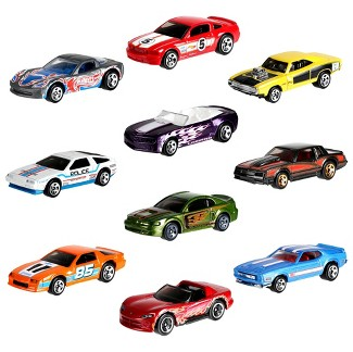 Hot Wheels 50th Anniversary Throwback 10pk