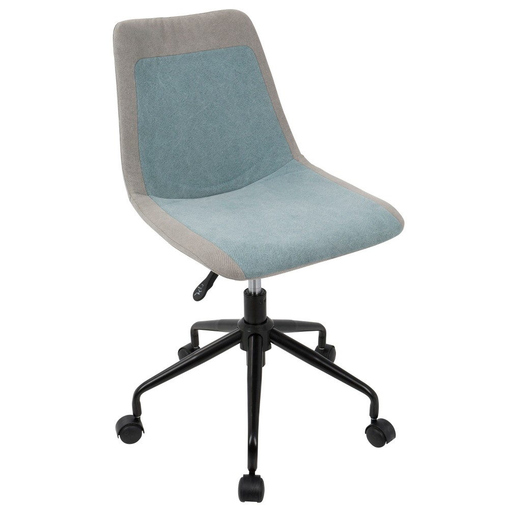 Orzo Adjustable Task Chair - Lumisource, Blue/Gray