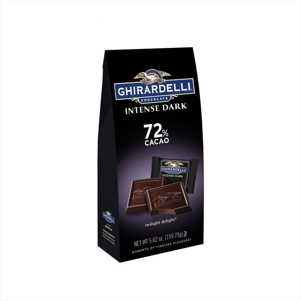 Ghirardelli Intense Dark Twilight Delight 72% Cacao Chocolate Squares - 5.62oz