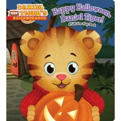 Happy Halloween Daniel Tiger (Board Book) (Angela C. Santomero)