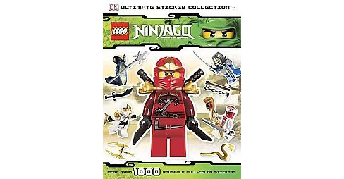 LEGO Ninjago Ultimate Sticker Collection (Paperback) by Shari Last - image 1 of 1