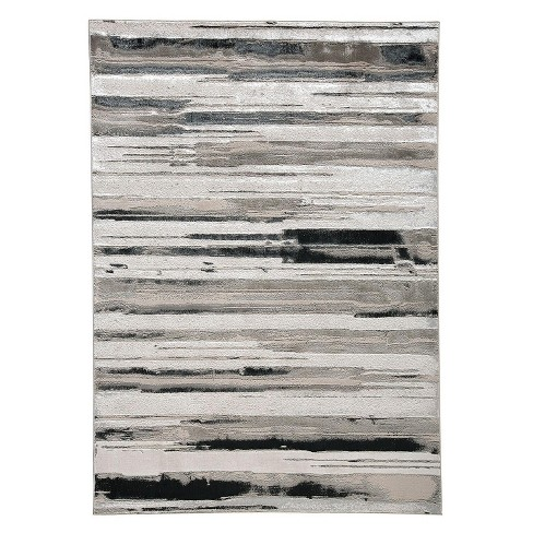 Feizy Micah Contemporary Geometric Gray Area Rug Target