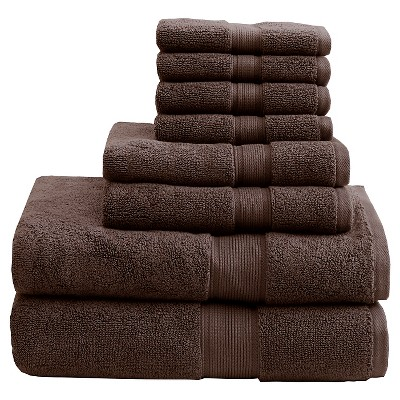 Bath Towel Set - Brown