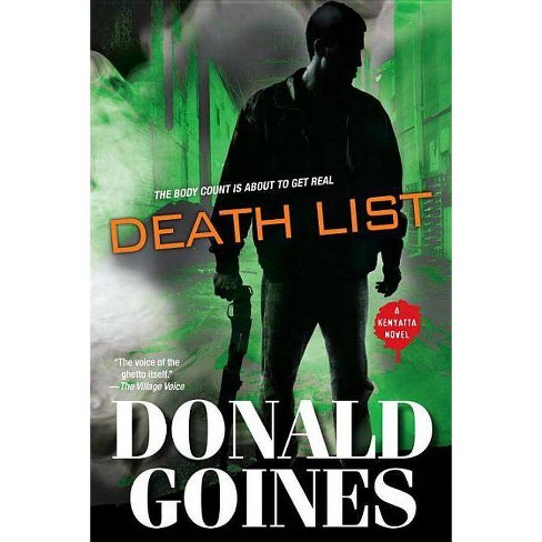 Death List - (Kenyatta) by  Donald Goines (Paperback) - image 1 of 1