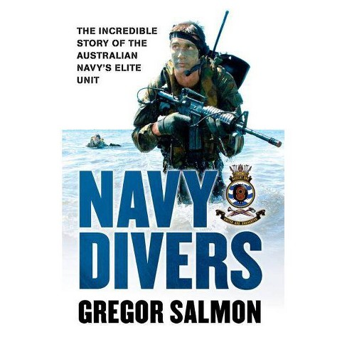 Navy Divers - by  Gregor Salmon (Paperback) - image 1 of 1