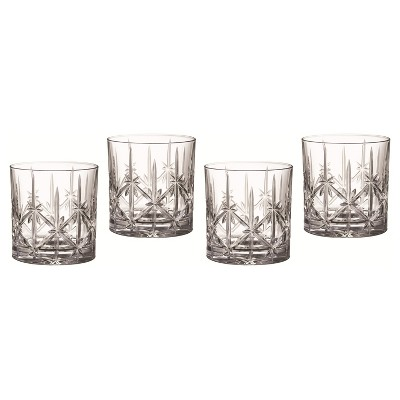 Marquis by Waterford Sparkle Crystal Double Old-Fashioned Glass 18oz - Set of 4