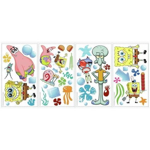 Spongebob Squarepants Peel and Stick Wall Decal - image 1 of 3