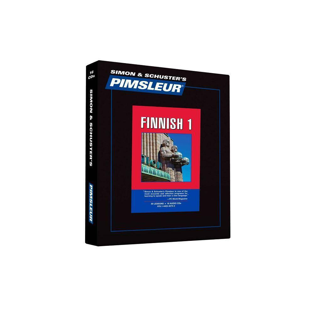 Pimsleur Finnish Level 1 CD - (Simon & Schuster's Pimsleur) (AudioCD)