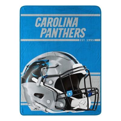 NFL Carolina Panthers Micro Fleece Throw Blanket