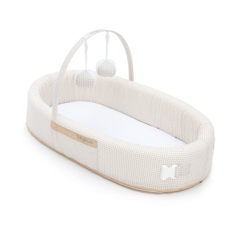 Lulyboo Portable Baby Bassinet To-Go Infant Co-Sleeper - Natural   Target cf0a04cd5