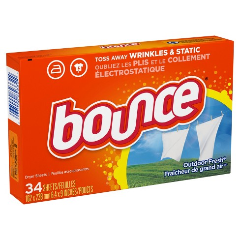 Bounce Outdoor Fresh Fabric Softener Sheets - image 1 of 3