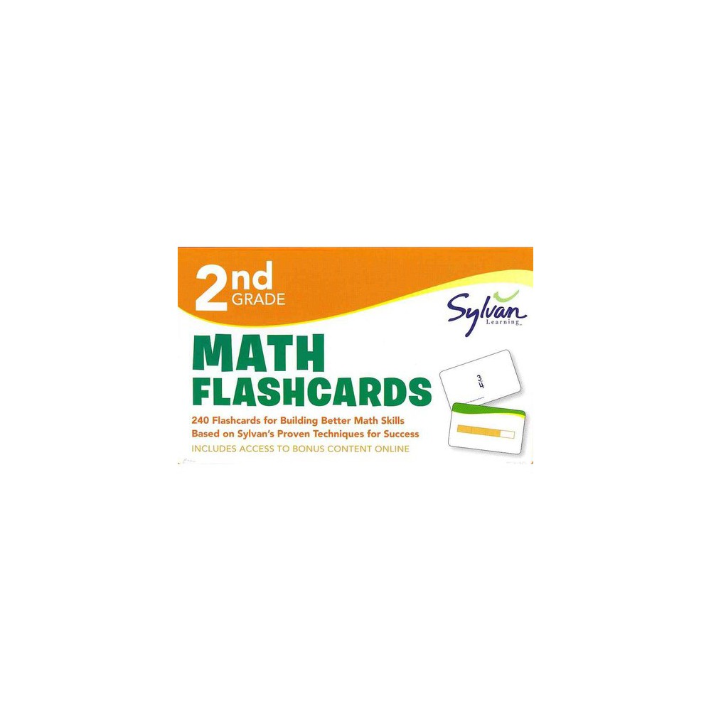 2nd Grade Math Flashcards (Paperback)